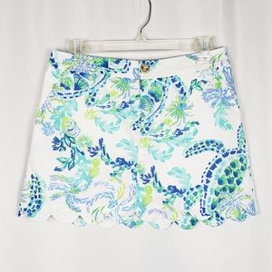 LILLY PULITZER Colette skort in Resort White